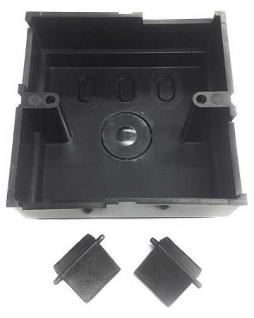 Back Box 25mm Black