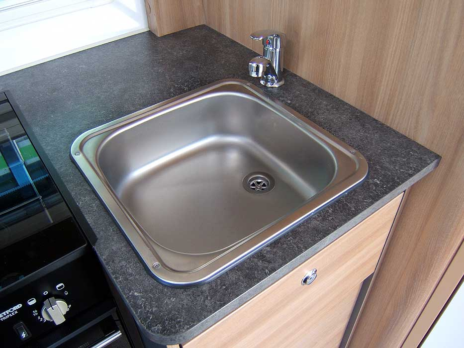 Detail of Stainless Steel Sink