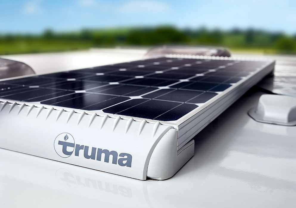 Bailey Alicanto Grande Truma Solar Panel Feature