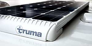 Bailey Pegasus Grande SE - Truma Solar Panel Feature