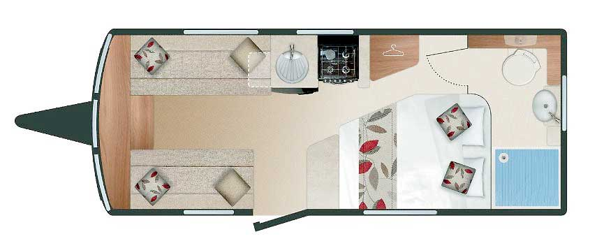 Swift Elegance 565 - Layout