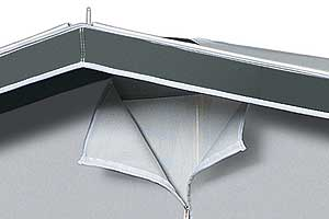 Dorema Awnings Ventilation Detail