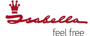Isabella Luxury Travel Bag Logo