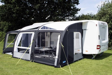 Kampa Rally Air Pro 390 Plus (Left Hand) ( With Special Offer )