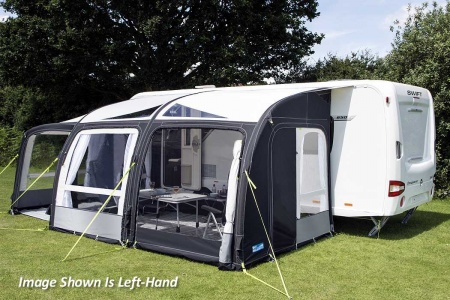 Kampa Rally Air Pro 390 Plus (Right Hand)