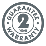 Kampa 2 Year Guarantee Logo