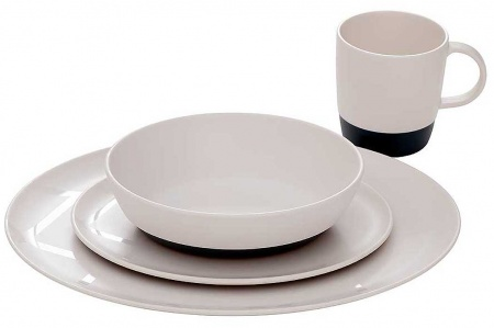 Isabella North Crockery Set - 16 Piece Set