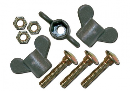 Isabella Wing Nut and Screw Set