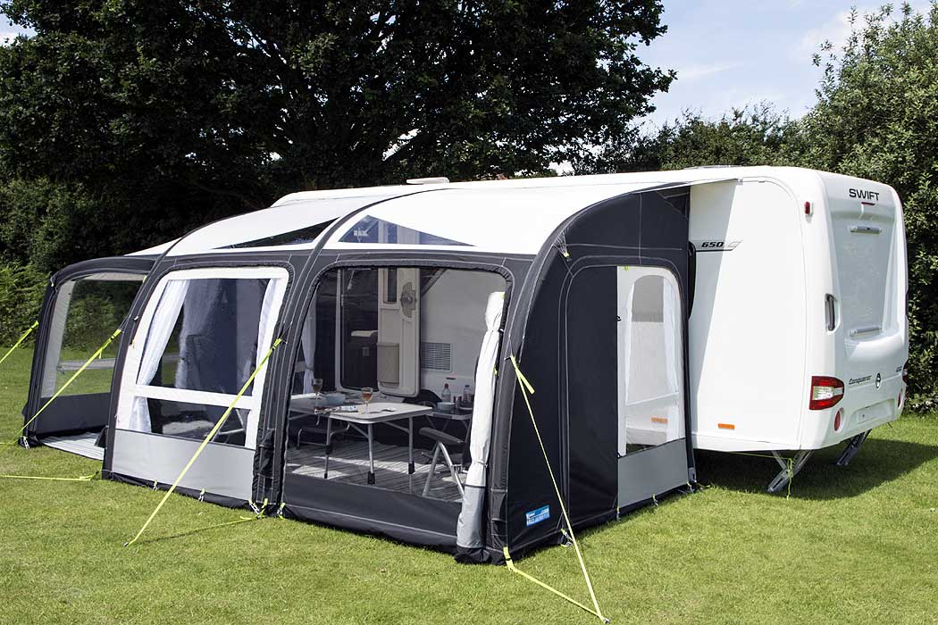 Kampa Rally Air Pro 390 Plus Left Hand Kampa Awnings