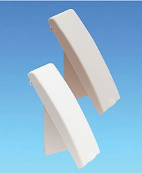 Cover for Caravan Mains Electric Inlet Beige