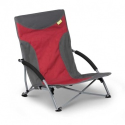 Kampa Sandy Low Chair Red